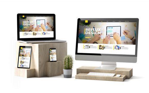 Firmen Web-Seite